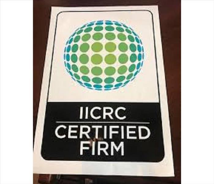 Iicrc Certified Firm Servpro Of Greater Shawnee Merriam